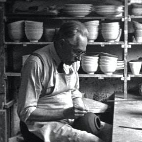 Portrait of Bernard Leach