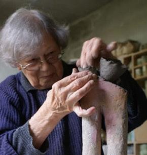 Portrait of Jacqueline Lerat