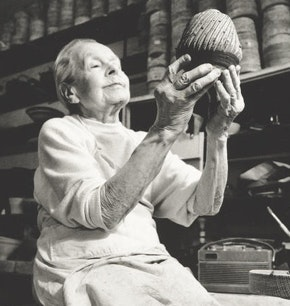 Portrait of Lucie Rie