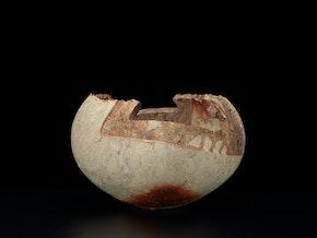 Una Mistura, ash-glazed vase
